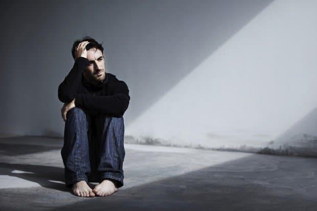 depressione nell'uomo